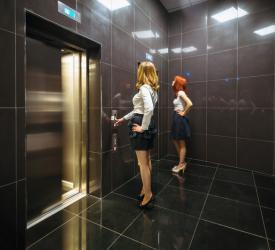 Лифтовые холлы ДЦ «Панорама»